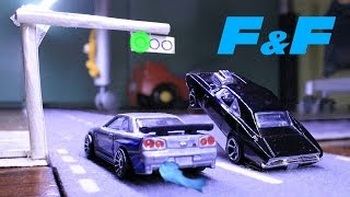 Brian vs Dom - Fast and Furious Stop Motion Minimovie
