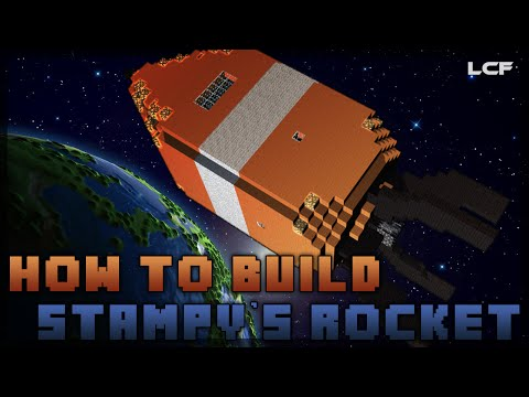 How to build Stampy's Rocket! - Minecraft Tutorial (1/2)