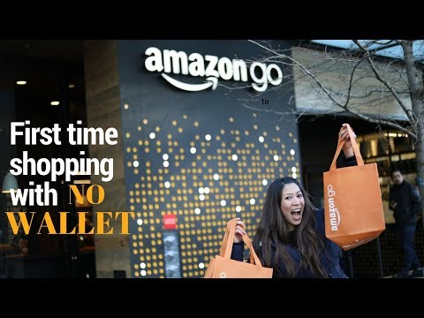 THE VERY FIRST AMAZON GO STORE IN SEATTLE- FIRST IMPRESSION!