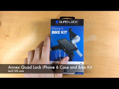 Annex Quad Lock iPhone 6 Case and Bike Kit