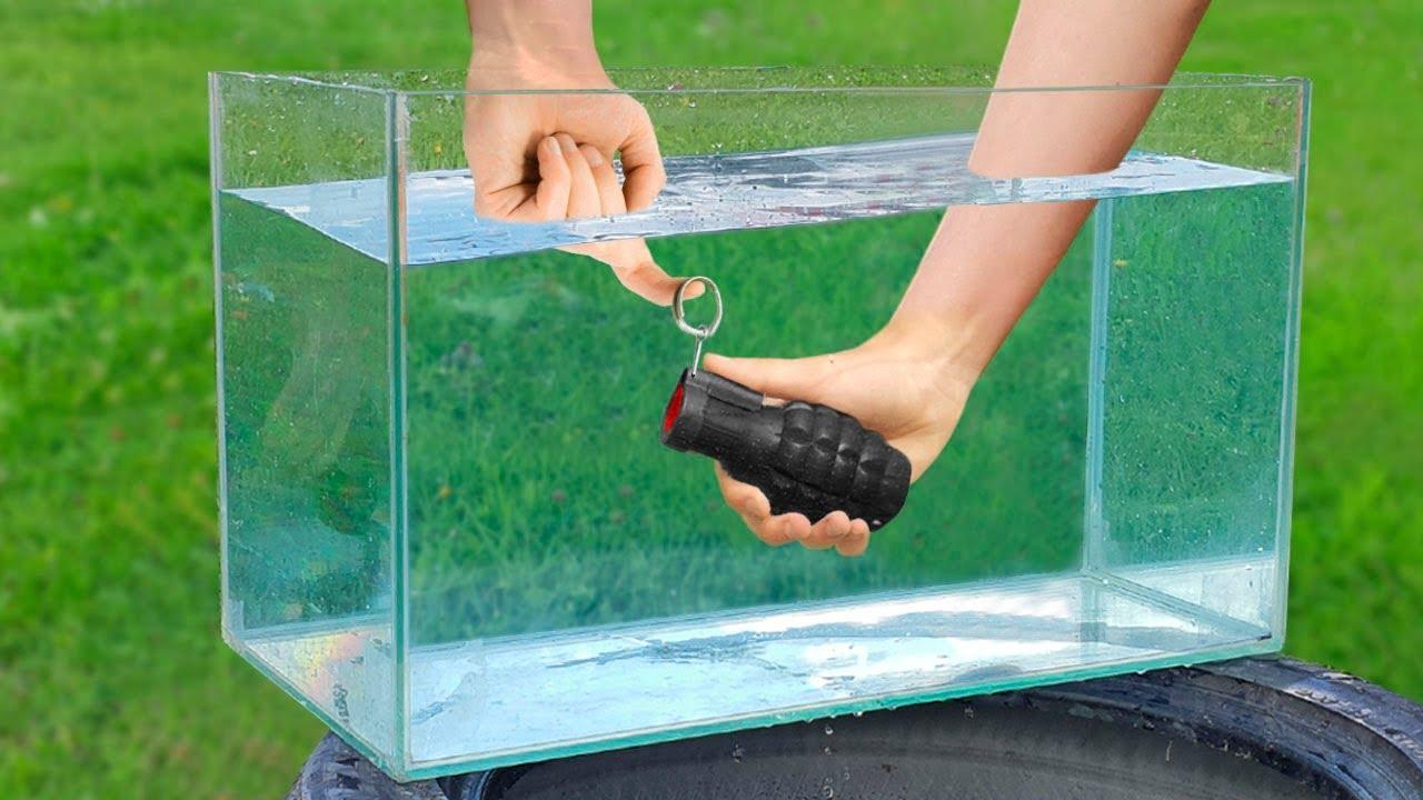 Experiment: Firecracker Under Water