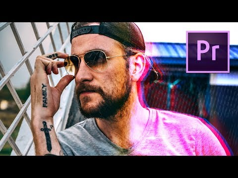 How to GLITCH EFFECT your footage!! Premiere Pro Tutorial