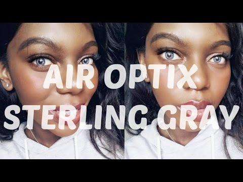 AIR OPTIX COLORS  - STERLING GRAY