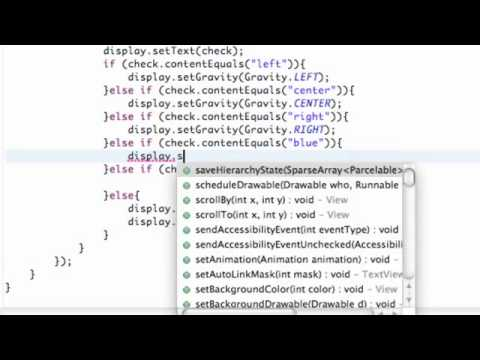 Android Application Development   30   Setting Color of a TextView in Java