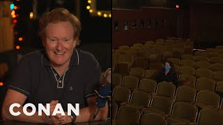 Conan's First Show From Largo At The Coronet Theater - CONAN on TBS