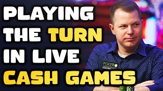 When to Keep Betting the Turn in Live Cash Games