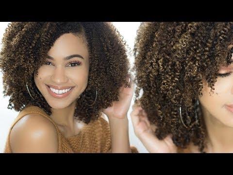 Defined,Gel-Free Wash N Go on Natural Hair