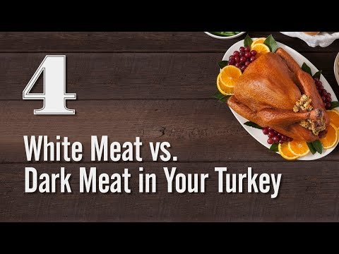 Turkey Tips - White Meat vs. Dark Meat in Your Turkey