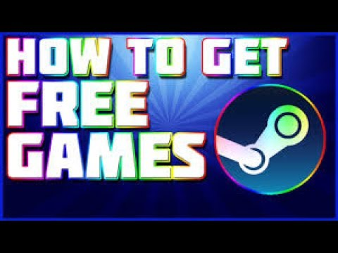 HOW TO GET FREE STEAM GAMES!!!!