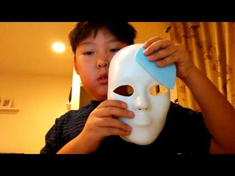 How to make a fierce deity mask from loZ mm