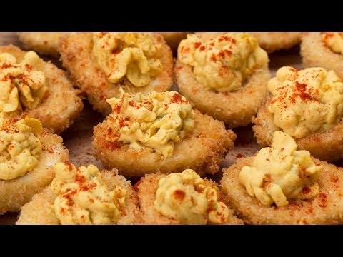 Deep-Fried Deviled Eggs