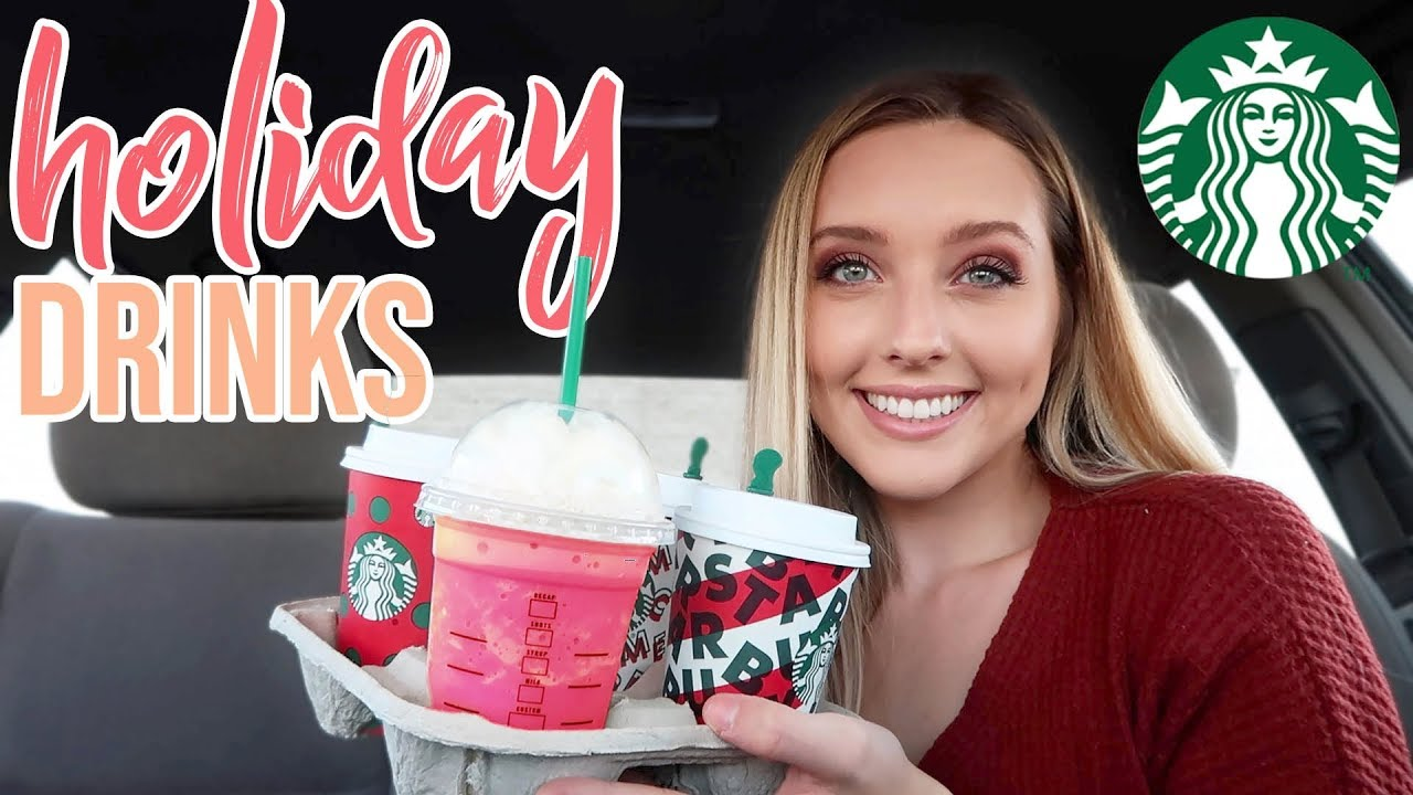 trying every starbucks holiday drink (the first time Starbucks ever disappointed...)