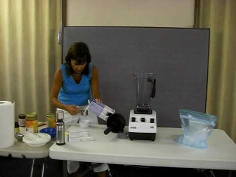 Vita-Mix Debbie DeMaria making Rice Milk Ice Cream