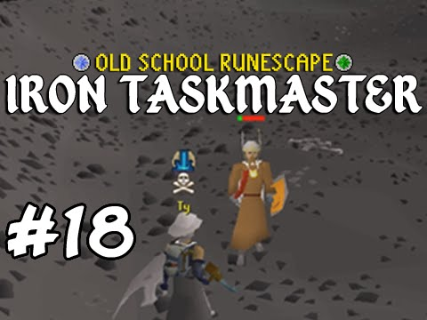 Old School RuneScape Ironman #18 - My First Barrows Chests