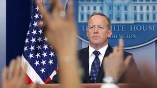 Sean Spicer resigns over hiring of Anthony Scaramucci