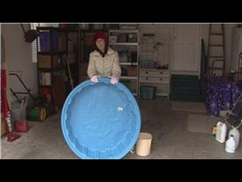 Housekeeping Tips : Cleaning Plastic Pools