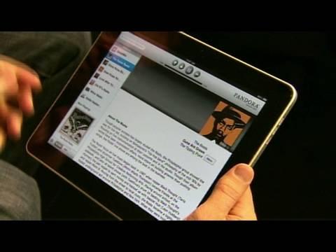 Pandora's new iPad app