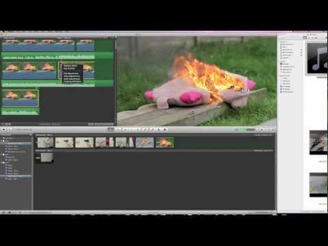 iMovie Tutorial: Slow Motion, Reverse Motion and Speed Up Motion