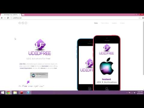 How to get your UDID registered for free!