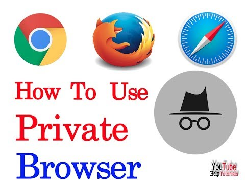 how to enable private or incognito browsing in chrome, safari and firefox in hindi 2017