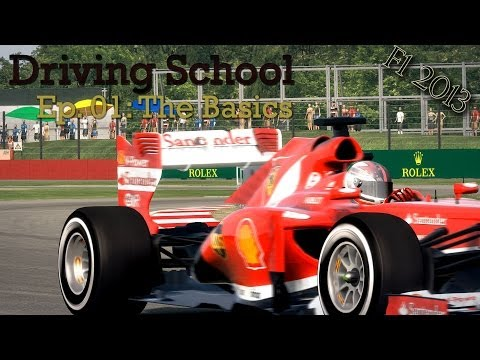 F1 2013 - Driving School - Learning The Basics