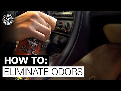 Eliminate Lingering Odors From Your Car - Chemical Guys Stripper Scent