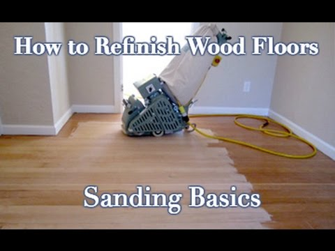 How to Sand and Refinish a Wood Floor: DIY Step by Step