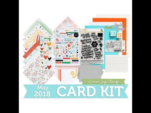 SSS May 2018 Card Kit Unboxing! | Kind Heart Card Kit