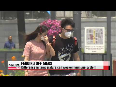 Ways to boost your immune system to avoid MERS   메르스 막는 방패... 면역력 높이려면?
