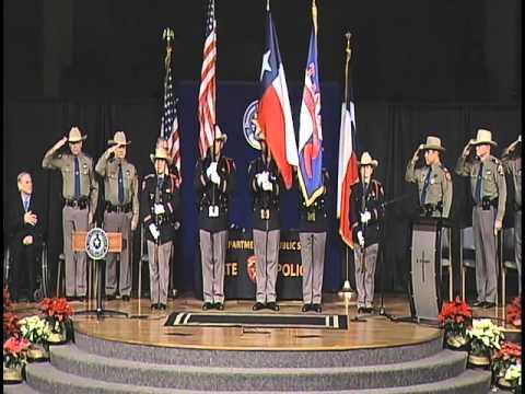 Texas Department of Public Safety 154th Trooper Training Class Graduation Ceremony (Dec. 18, 2015)
