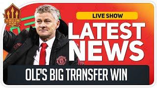 Solskjaer Gets Transfer Wish! Man Utd Transfer News