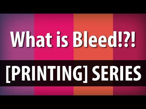 What is Bleed? Understanding Printer Bleed