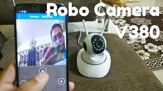 V380 Robo camera- How to setup Wireless IP CCTV Camera- by Manmohan Pal