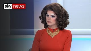 Drag Queen attacked over right wing rally