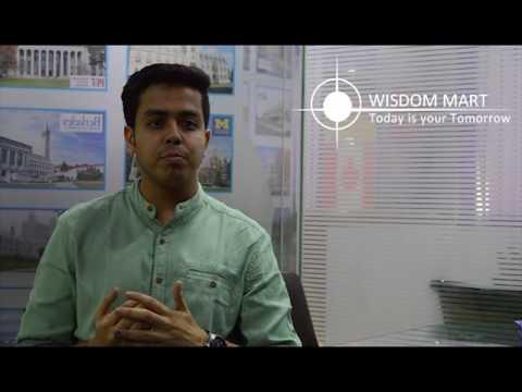 Wisdom Mart | Admission Abroad Services | Aman Mahajan