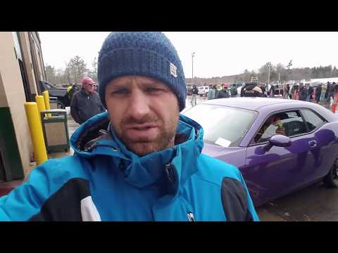 Auction Day - Plum crazy purple Dodge Challenger - is it worth it?