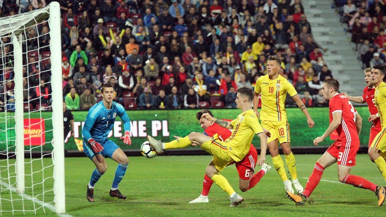 România U21 - Țara Galilor U21 2-0