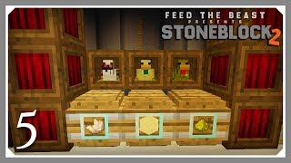 FTB Stoneblock 2 chicken breeding Videos - 9tube tv