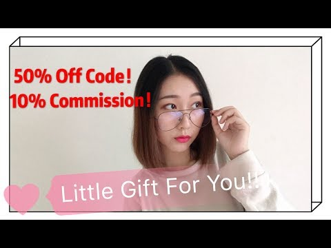 A Little Gift In Your Firmoo Package | Don't Miss Your 50% Off Frame Coupon And 10% Commission