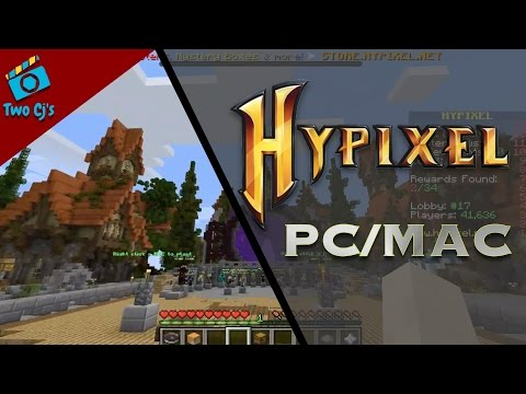 How to Join Minecraft Hypixel Server on PC / MAC