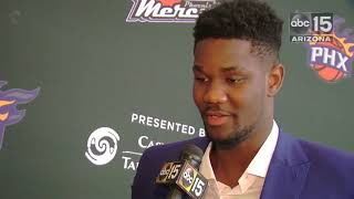 Deandre Ayton talks about the challenges of being a giant human being - ABC15 Sports