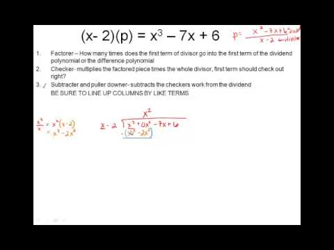2 3 Polyonomial Division