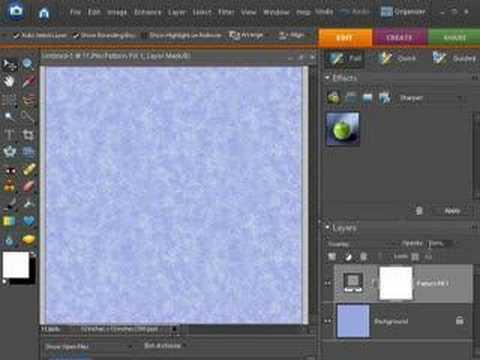 Digital Scrapbooking Tutorial - Creating digital paper