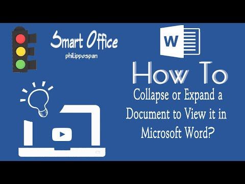 Collapse And Expand A Document In Word 13