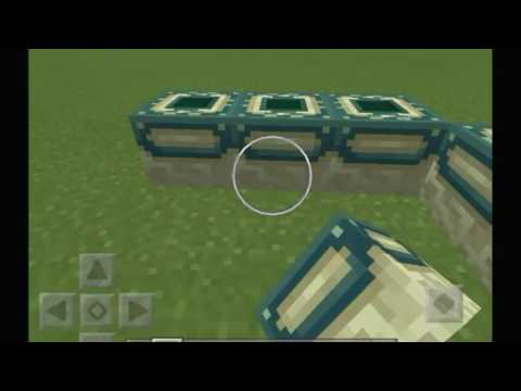 How to make an End Portal in Minecraft Pocket Edition v1.1.5.1