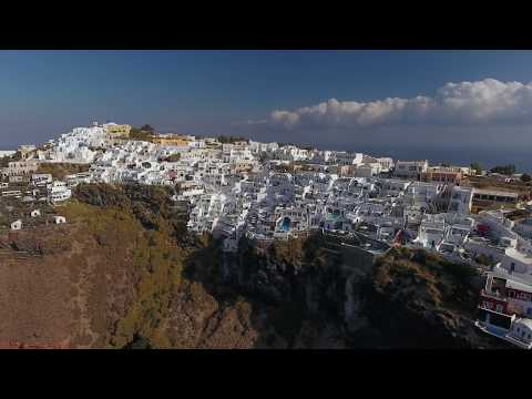 VIRTUAL VACATION 2: SANTORINI GREECE || Zak Longo