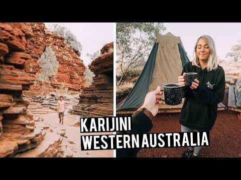 Camping in Karijini National Park   Most Beautiful Place in Australia