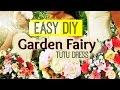 DIY Summer Garden Fairy Costume Tutu