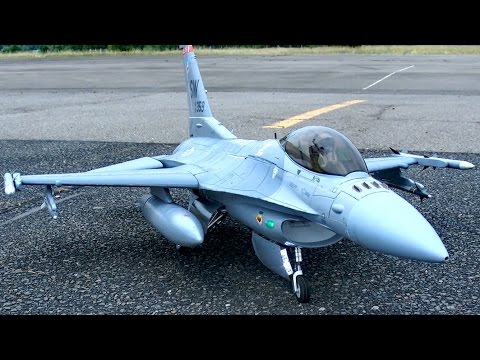 F-16 EDF RC ELECTRIC JET MODEL FLIGHT / READY 2 FLY / Meeting Gatow 2015 *1080p50fpsHD*