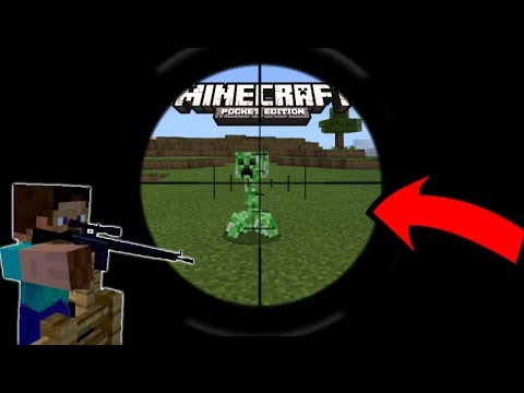 How To Get A Scope In MINECRAFT PE 1.2.11+